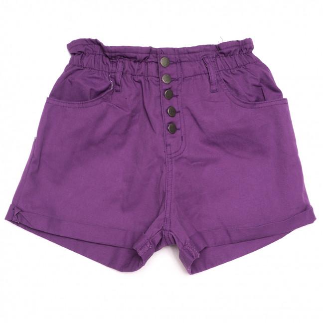 0226 сиреневые Defile шорты джинсовые женские на резинке коттоновые (34-40,евро, 6 ед.) Defile: артикул 1110664
