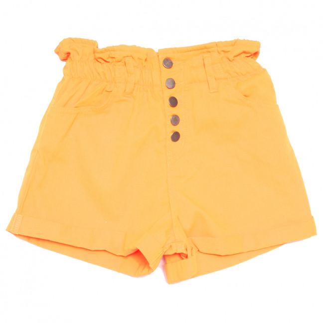 0610 оранжевые Defile шорты джинсовые женские коттоновые (34-40,евро, 6 ед.) Defile: артикул 1110713