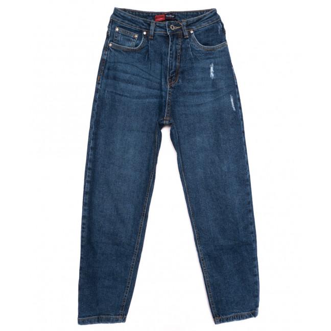 0062-3 М Relucky джинсы-баллон синие осенние стрейчевые (25-30, 6 ед.) Relucky: артикул 1110642
