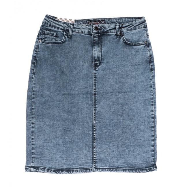 0574 Redmoon юбка джинсовая батальная синяя стрейчевая (30-36, 6 ед.) REDMOON: артикул 1110861