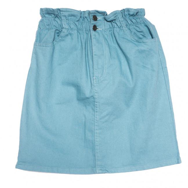 34413 голубая Defile юбка джинсовая весенняя коттоновая (34-40,евро, 7 ед.) Defile: артикул 1110707