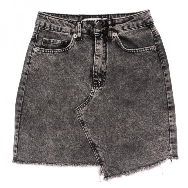 3467 Xray юбка джинсовая серая весенняя коттоновая (34-40,евро, 6 ед.) XRAY: артикул 1110709