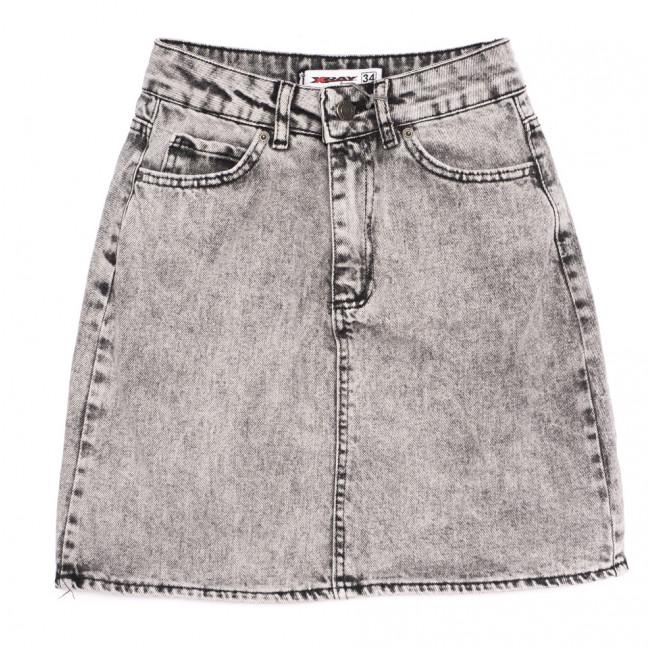 3422 Xray юбка джинсовая серая весенняя коттоновая (34-40,евро, 6 ед.) XRAY: артикул 1110700