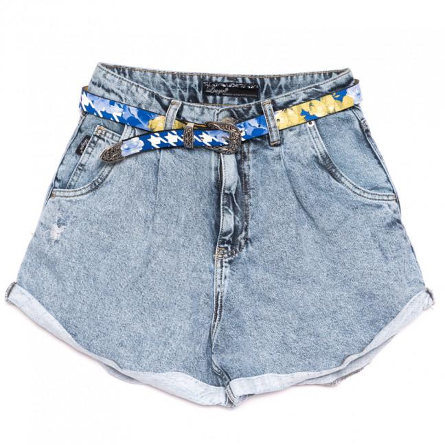 9874 Liuzin шорты джинсовые женские синие коттоновые (25-30, 6 ед.) Liuzin: артикул 1110828
