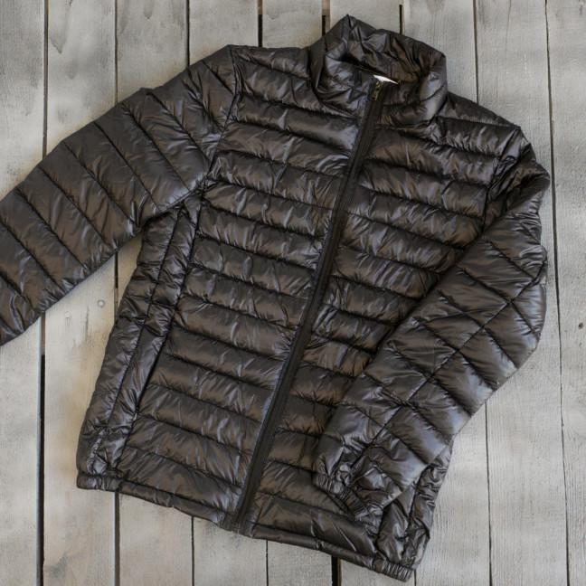 1713 куртка женская демисезонная черная на синтепоне (XS,L, 2 ед.) Куртка: артикул 1110616