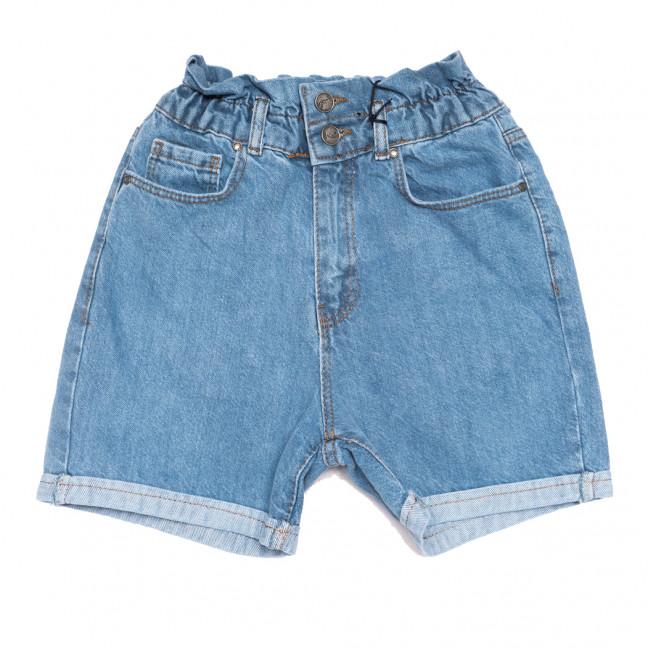 20315 YMR шорты джинсовые женские синие коттоновые (34-42,евро, 8 ед.) YMR: артикул 1110691