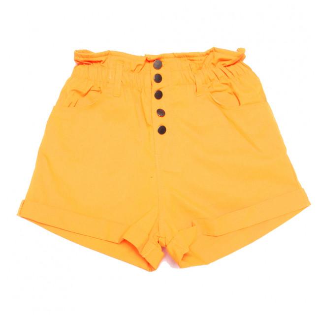 0226 оранжевые Defile шорты джинсовые женские на резинке коттоновые (34-40,евро, 6 ед.) Defile: артикул 1110668