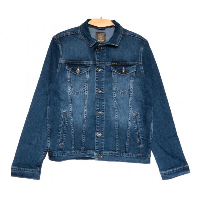 5200 Pitbull куртка джинсовая мужская синяя весенняя стрейчевая (S-XXL, 5 ед.) Pitbull: артикул 1110742