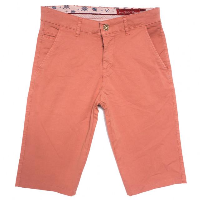 0246 коралловые True Blue шорты джинсовые мужские стрейчевые (29-38, 8 ед.) True Blue: артикул 1110737