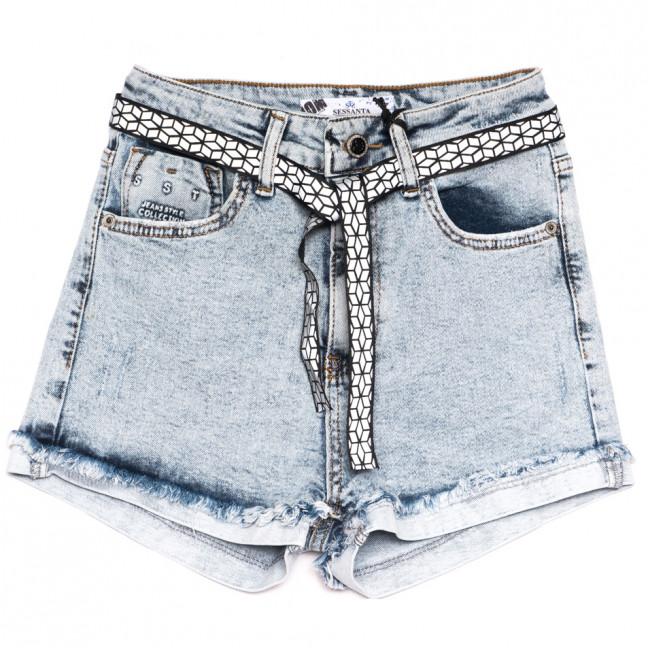 5421 Sessanta шорты джинсовые женские синие стрейчевые (25-30, 6 ед.) Sessanta: артикул 1110834