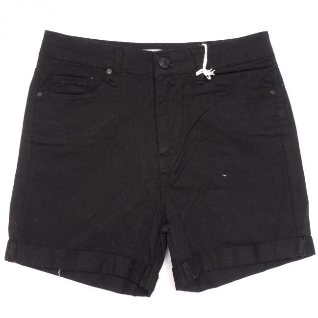 2106 MJS шорты джинсовые женские черные коттоновые (25-32, 6 ед.) MJS: артикул 1110693