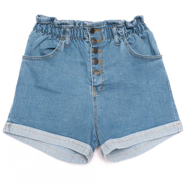 0226 синие Defile шорты джинсовые женские на резинке коттоновые (34-40,евро, 6 ед.) Defile: артикул 1110673