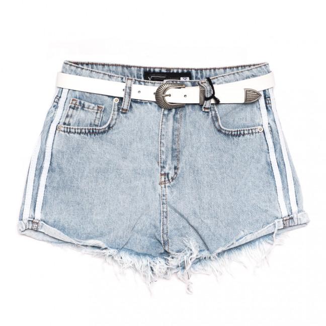 0320 Sherocco шорты джинсовые женские синие коттоновые (25-30, 6 ед.) SheRocco: артикул 1110822