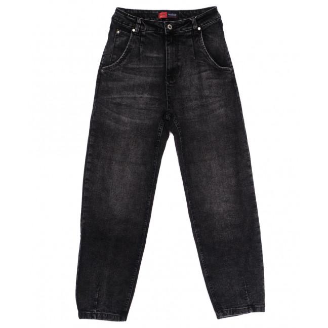 0052-3 М Relucky джинсы-баллон серые осенние стрейчевые (25-30, 6 ед.) Relucky: артикул 1110635