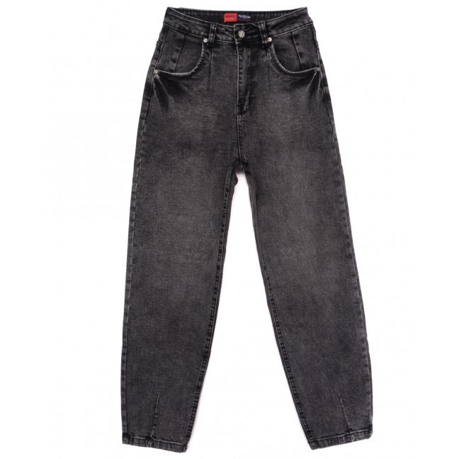 0085-2 М Relucky джинсы-баллон серые осенние стрейчевые (25-30, 6 ед.) Relucky: артикул 1110636
