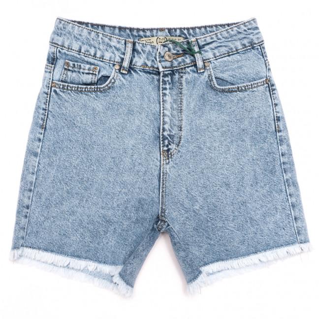 2095 777Plus шорты джинсовые женские синие коттоновые (25-32, 8 ед.) 777Plus: артикул 1110871