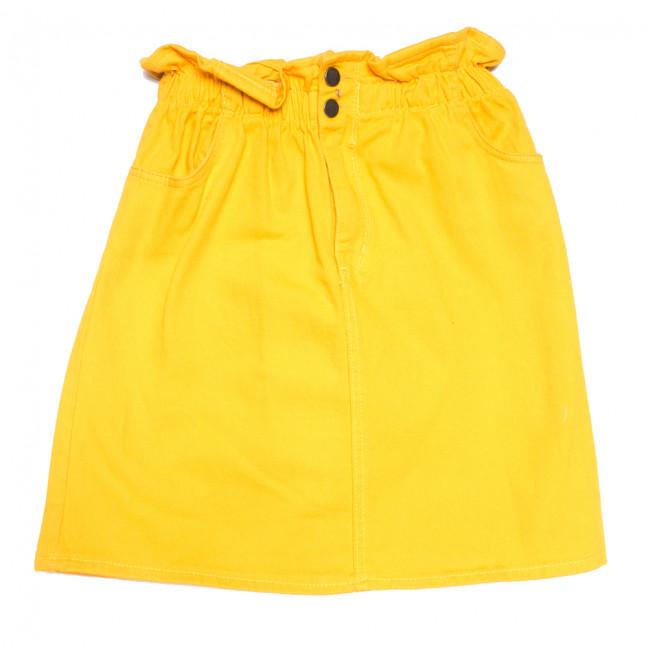 34413 жёлтая Defile юбка джинсовая весенняя коттоновая (34-40,евро, 7 ед.) Defile: артикул 1110704