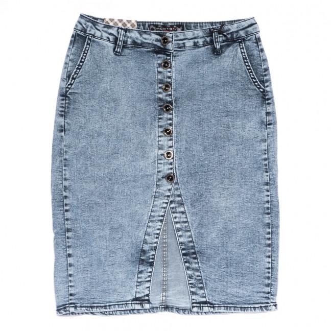 0590 Redmoon юбка джинсовая полубатальная синяя стрейчевая (28-33, 6 ед.) REDMOON: артикул 1110862