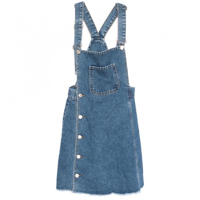 8459 Xray сарафан джинсовый синий весенний коттоновый (34-40,евро, 6 ед.) XRAY: артикул 1110784