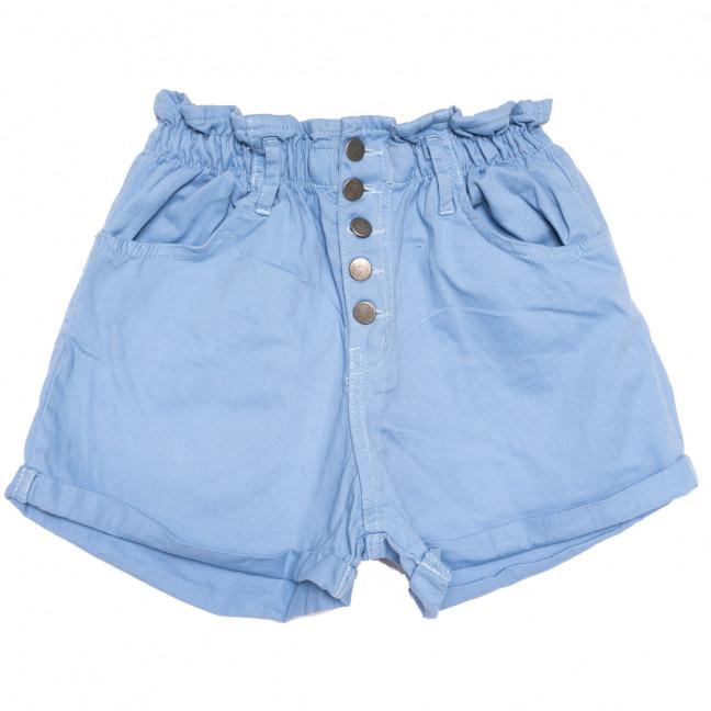 0226 голубые Defile шорты джинсовые женские на резинке коттоновые (34-40,евро, 6 ед.) Defile: артикул 1110676