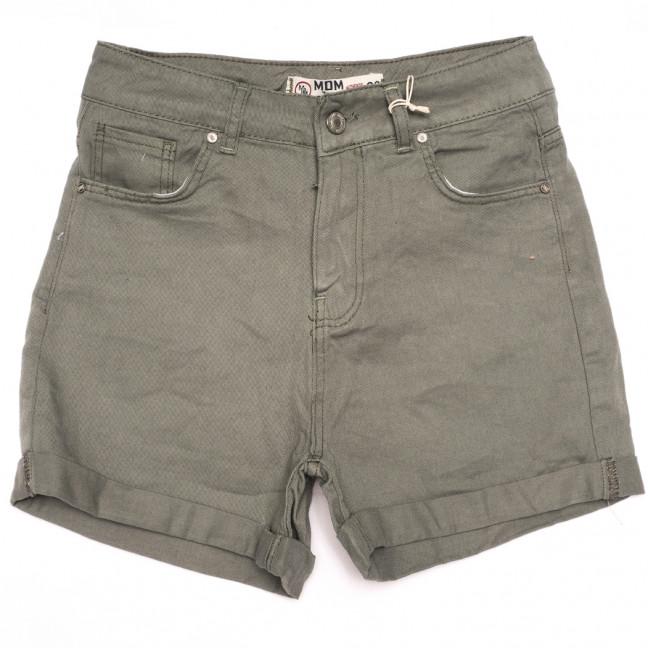 2107 MJS шорты джинсовые женские хаки коттоновые (25-32, 6 ед.) MJS: артикул 1110872