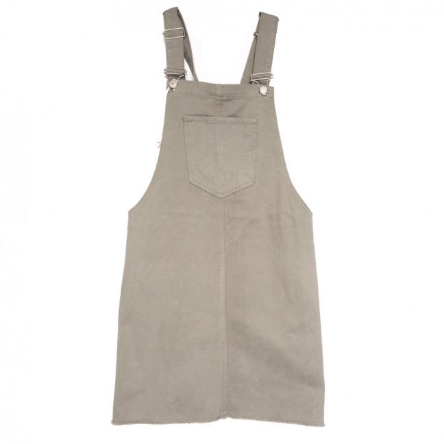 3407 Xray сарафан джинсовый серый весенний коттоновый (34-40,евро, 6 ед.) XRAY: артикул 1110788