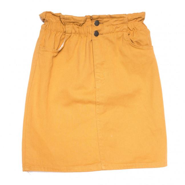 34413 горчичная Defile юбка джинсовая весенняя коттоновая (34-40,евро, 7 ед.) Defile: артикул 1110708