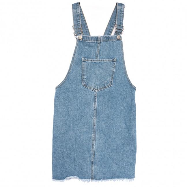 3441 Xray сарафан джинсовый синий весенний коттоновый (34-42,евро, 6 ед.) XRAY: артикул 1110787