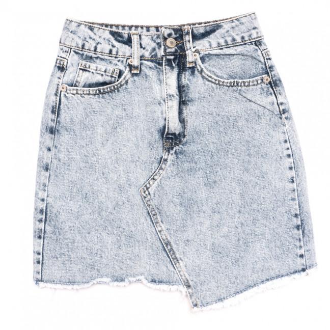 3468 Xray юбка джинсовая синяя  весенняя коттоновая (34-40,евро, 6 ед.) XRAY: артикул 1110710