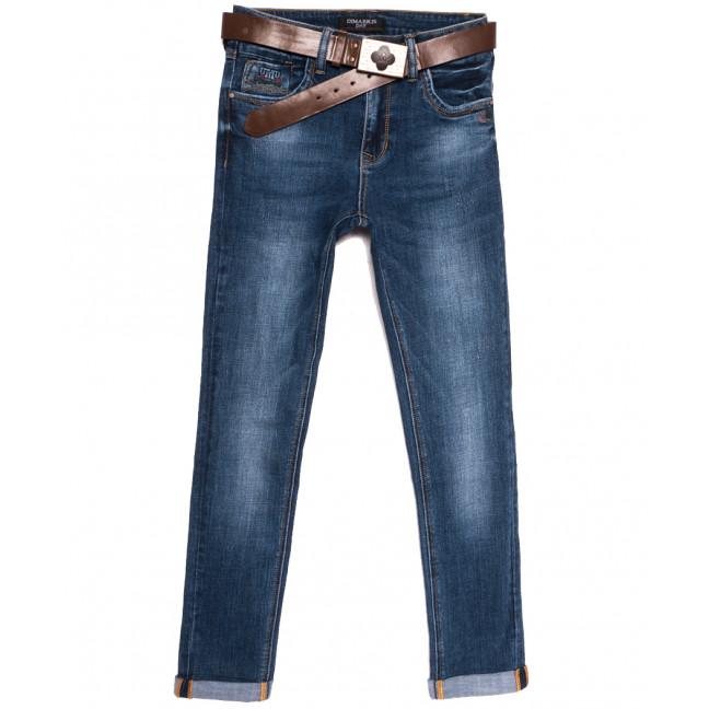 9337 Dimarkis Day джинсы женские полубатальные синие осенние стрейчевые (28-33, 6 ед.) Dimarkis Day: артикул 1112277