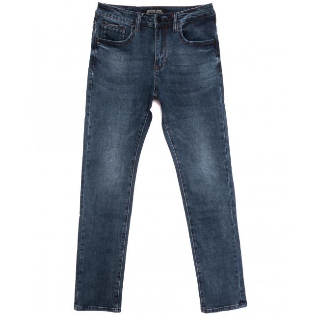 02777 (02-777) Reigouse джинсы мужские синие осенние стрейчевые (30-38, 8 ед.) REIGOUSE: артикул 1112951