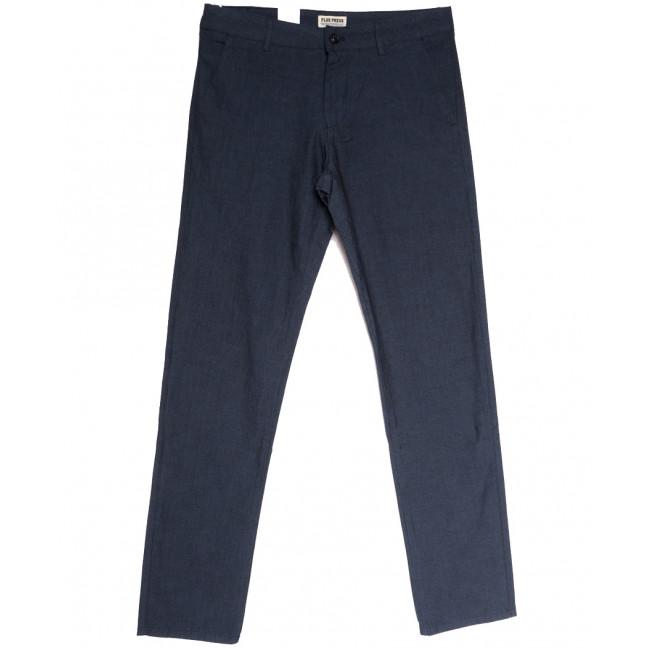 0877 Plus Press брюки мужские синие осенние коттоновые (31-38, 8 ед.) Plus Press: артикул 1112811