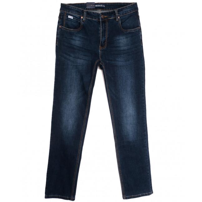 0506-1 Vicucs джинсы мужские полубатальные синие осенние стрейчевые (32-42, 7 ед.) Vicucs: артикул 1112707