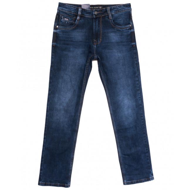 9523 Baron джинсы мужские полубатальные синие осенние стрейчевые (32-38, 8 ед.) Baron: артикул 1112543