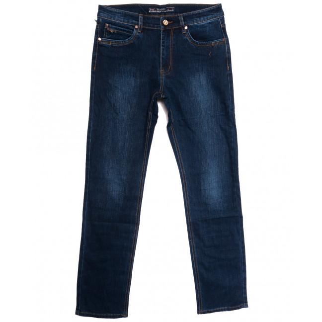 66025 Pr.Minos джинсы мужские полубатальные синие осенние стрейчевые (33-44, 8 ед.) Pr.Minos: артикул 1112836