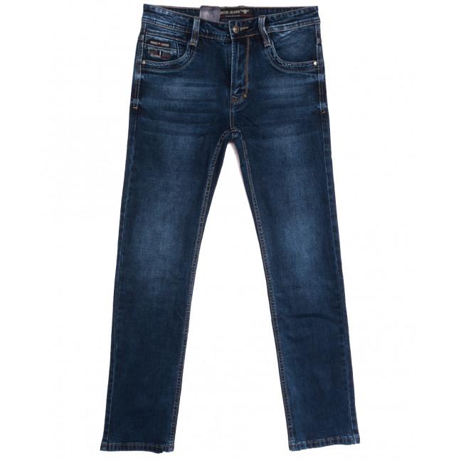 9479 Baron джинсы мужские полубатальные синие осенние стрейчевые (32-38, 8 ед.) Baron: артикул 1112539