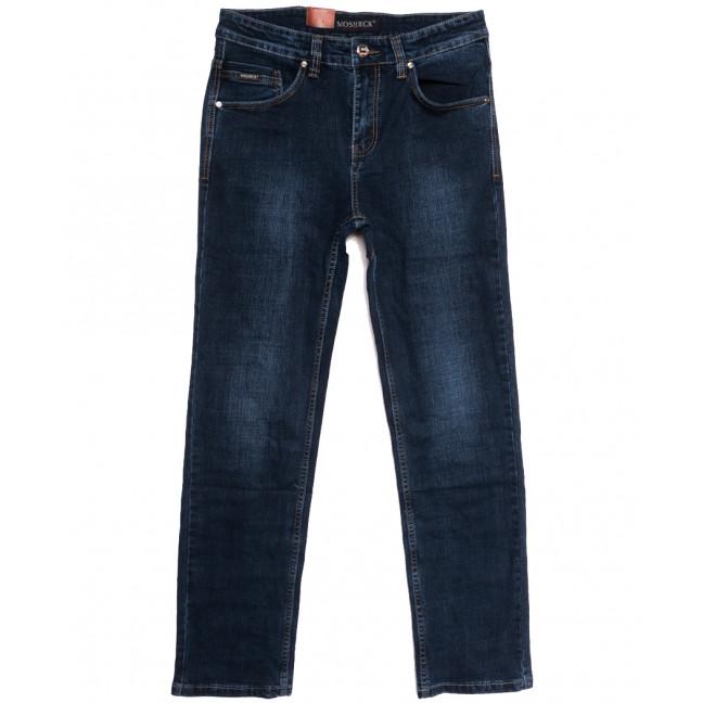 91017 Moshrck джинсы мужские полубатальные синие осенние стрейчевые (32-40, 8 ед.) Moshrck: артикул 1112627