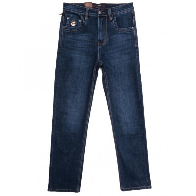 9246 Baron джинсы мужские полубатальные синие осенние стрейчевые (32-42, 8 ед.) Baron: артикул 1112524