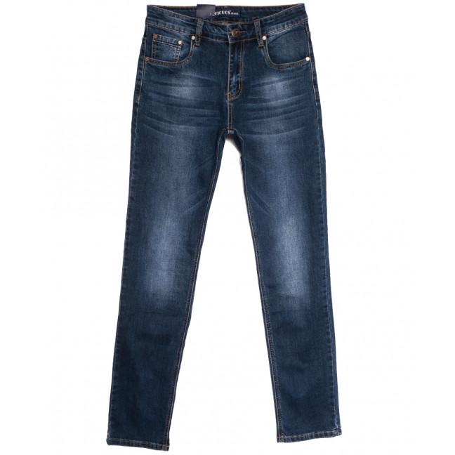 0508-2 Vicucs джинсы мужские синие осенние стрейчевые (30-38, 8 ед.) Vicucs: артикул 1112699