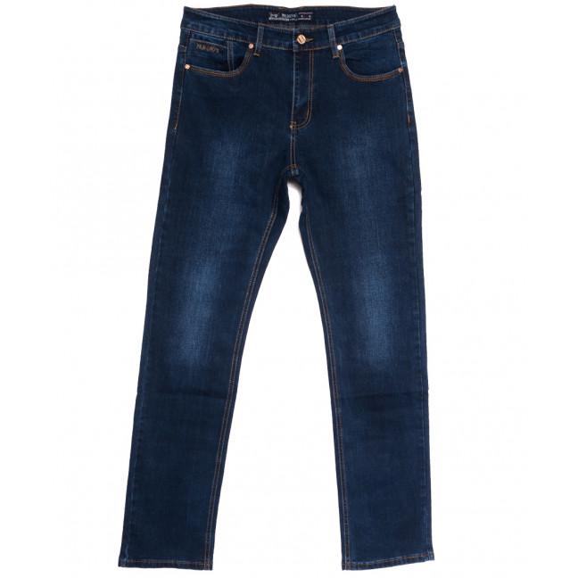 66030 Pr.Minos джинсы мужские полубатальные синие осенние стрейчевые (32-38, 8 ед.) Pr.Minos: артикул 1112468