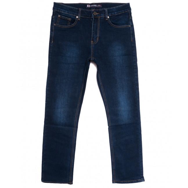 66018 Pr.Minos джинсы мужские полубатальные синие осенние стрейчевые (32-38, 8 ед.) Pr.Minos: артикул 1112833
