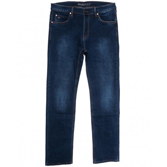 66035 Pr.Minos джинсы мужские полубатальные синие осенние стрейчевые (33-44, 8 ед.) Pr.Minos: артикул 1112463