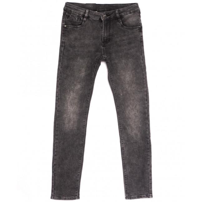 20059-6 Viman джинсы мужские серые осенние стрейчевые (30-38, 6 ед.) Viman: артикул 1112567