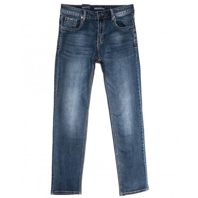 0508-3 Vicucs джинсы мужские синие осенние стрейчевые (30-38, 8 ед.) Vicucs: артикул 1112700