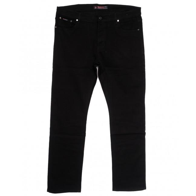 66042 Pr.Minos джинсы мужские полубатальные черные осенние стрейчевые (32-42, 8 ед.) Pr.Minos: артикул 1112464