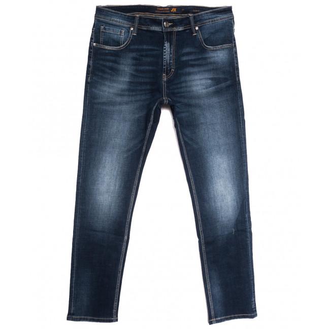 0012-2 (012А2) JE джинсы мужские полубатальные синие осенние стрейчевые (32-38, 8 ед.) JE: артикул 1112857
