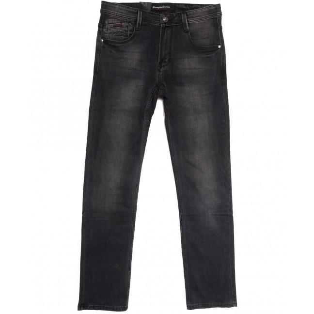 9531 Baron джинсы мужские полубатальные серые осенние стрейчевые (32-42, 8 ед.) Baron: артикул 1112556