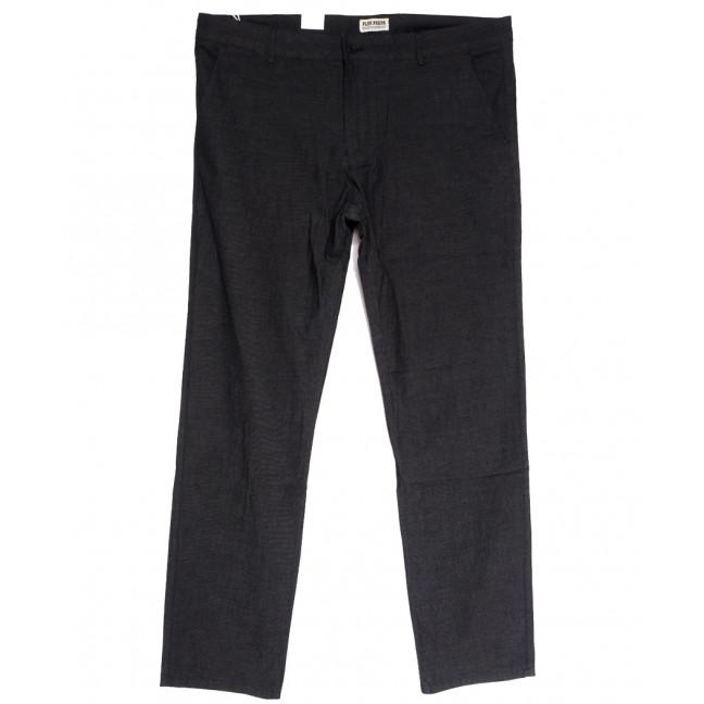 0884 Plus Press брюки мужские полубатальные серые осенние коттоновые (32-38, 8 ед.) Plus Press: артикул 1112810