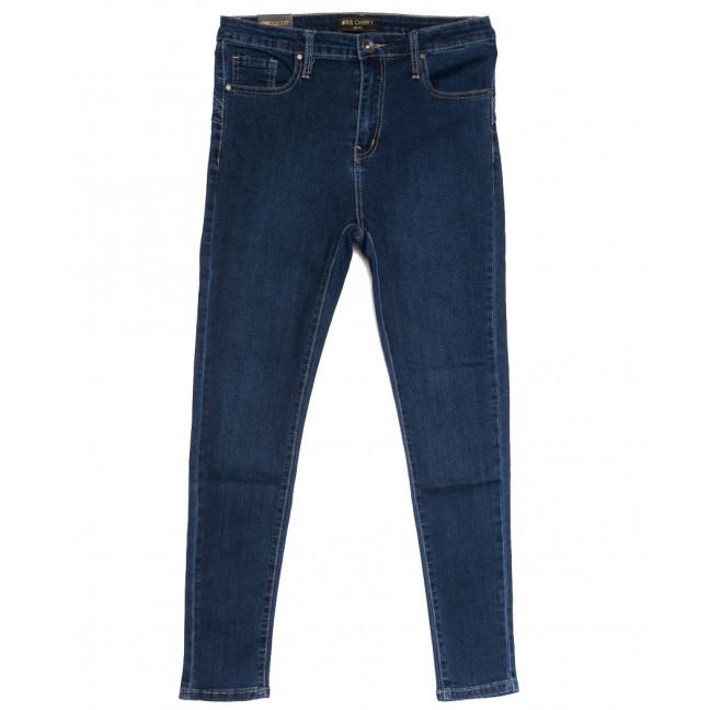 1703 Miss Cherry джинсы женские батальные синие осенние стрейчевые (30-38, 6 ед.) Miss Cherry: артикул 1112252