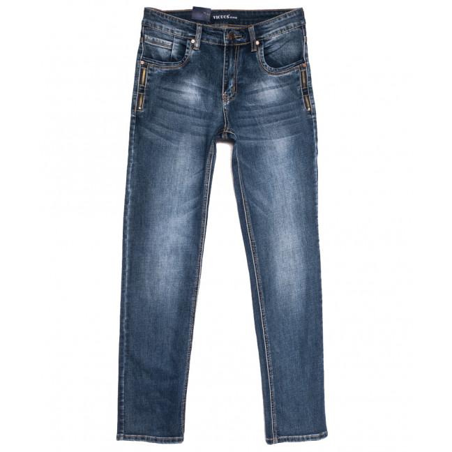 0501-3 Vicucs джинсы мужские молодежные синие осенние стрейчевые (27-33, 7 ед.) Vicucs: артикул 1112716